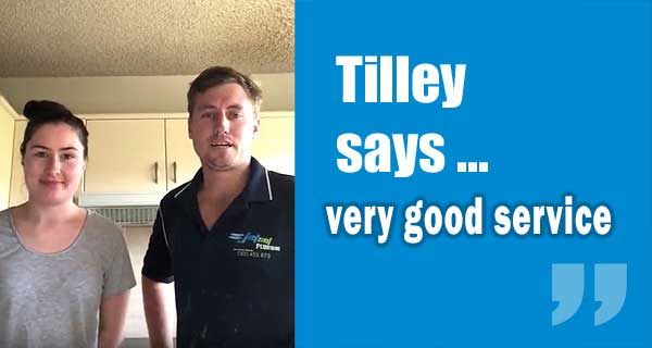 Tilley Customer Review from Ashgrove